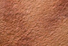 Brunaktig röd stenstruktur Royaltyfri Fotografi