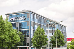 Brunata Metrona building Royalty Free Stock Image