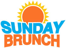 Brunch de dimanche Image stock