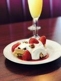 Brunch. Mimosa desert brunch Stock Photography