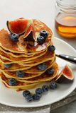 Brunch Pancakes With Berry Royalty Free Stock Image
