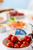 Brunch/tomates/desayuno imagen de archivo libre de regalías