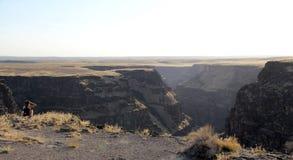 Bruneau kanjon, idaho, USA Royaltyfri Bild