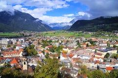 Bruneck Italië royalty-vrije stock fotografie