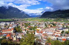 Bruneck Italy Royalty Free Stock Photography