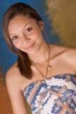 Bruneete atractivo del modelo de moda de la mujer de la muchacha Imagen de archivo libre de regalías
