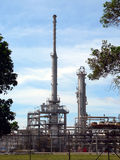 Brunei. Crude Oil Refinery. Crude Oil Refinery station royalty free stock photos