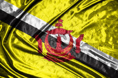 Brunei Darussalam flag .flag on background Stock Photo