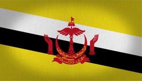 Brunei-Flagge vektor abbildung