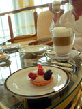 Brunei. Hoch-Tee (Kaffee und Kuchen) Stockfotos