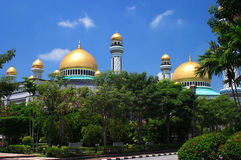 Brunei, Jameasr Hassanil Bolkiah mosque Stock Photo