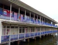 Brunei-Kapital: Bandar. Kampung Ayer Schule (2of2) Lizenzfreie Stockbilder