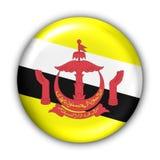 Brunei-Markierungsfahne lizenzfreie abbildung