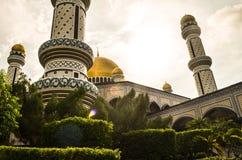 Brunei moské Royaltyfria Foton