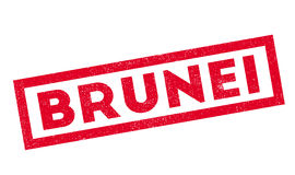 Brunei rubber stamp Royalty Free Stock Image
