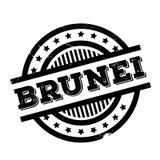 Brunei rubber stamp Stock Photo