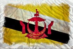 Brunei-Schmutzflagge vektor abbildung