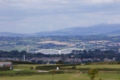 Brunel en Tamar Bridges royalty-vrije stock foto