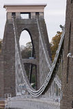 Brunel's historic Clifton suspension bridge Royalty Free Stock Photos