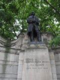 Brunel-Statue in London stockfotos