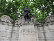 Brunel statue in London Stock Image