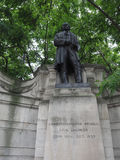 Brunel statue in London Stock Photos