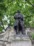 Brunel statue in London Royalty Free Stock Photos