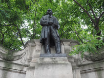 Brunel statue in London Royalty Free Stock Images