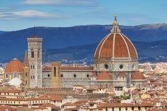 Brunelleschi�s Dome (Santa Maria del Fiore) Royalty Free Stock Photos