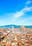 Brunelleschi圆屋顶  免版税库存图片