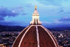 brunelleschi圆顶  免版税库存照片