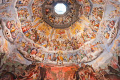 The Brunelleschi cupola, Florence. Stock Photo