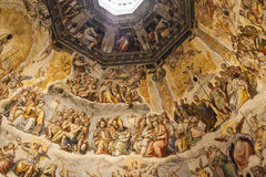 Brunelleschi cupola, Florence duomo, Tuscany. Stock Images