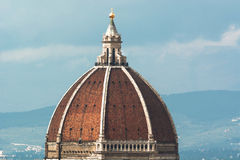 Brunelleschi Dome in Florence Stock Images