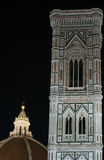 Brunelleschi dome and Giotto Bell tower Royalty Free Stock Photo