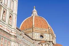 Brunelleschi` s Koepel - Florence stock foto's