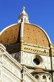 Brunelleschi` s Koepel van Santa Maria del Fiore Cathedral, Florence royalty-vrije stock foto