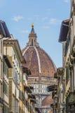 Brunelleschikoepel in Florence Stock Afbeelding