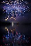Brunensis ignis фейерверка Стоковое Фото