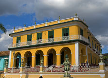 Brunet Palace, Trinidad, Cuba Royalty Free Stock Images