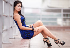 Brunete woman Royalty Free Stock Images