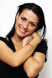 Brunete young woman Royalty Free Stock Photo