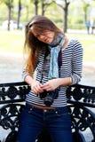 brunetka fotografia stock