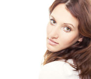 brunetka, Zdjęcie Stock