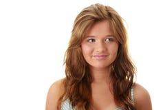 brunetka atrakcyjny portret fotografia stock