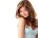 brunetka atrakcyjny portret obraz stock