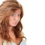 brunetka atrakcyjny portret zdjęcie royalty free