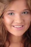 brunetka atrakcyjny portret obraz royalty free