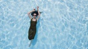 Brunetka bikini model Zdjęcie Royalty Free