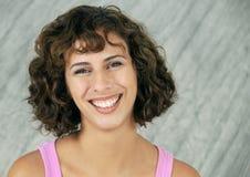 brunetka ekspresyjna Zdjęcia Stock